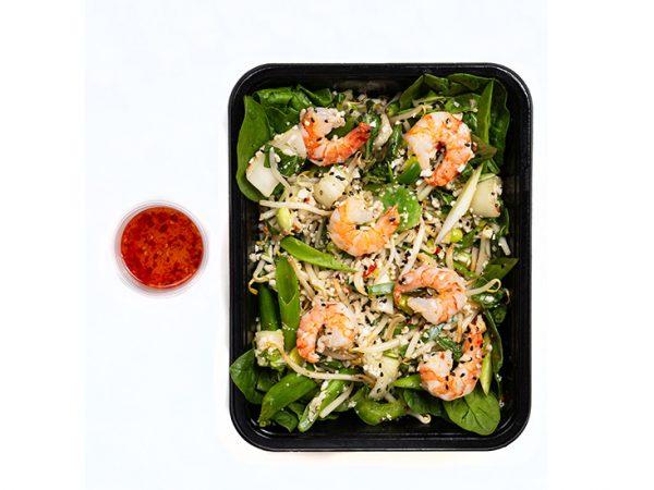 vietnamese scampi salad