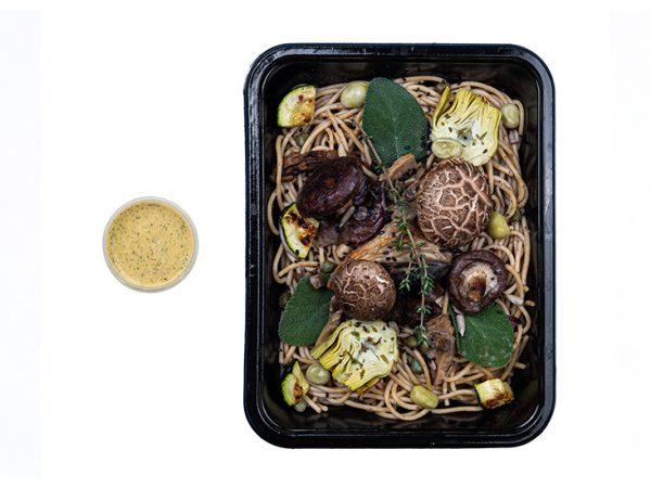 Wild mushroom spaghetti