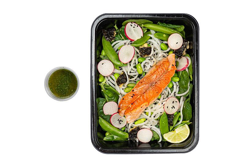 Japanese Salmon Tartar